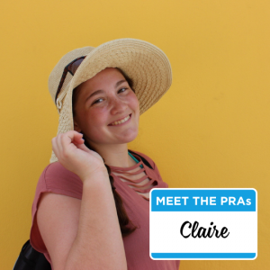 Meet the PRAs - Claire.